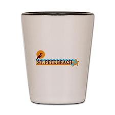 St. Pete Beach - Beach Design. Shot Glass