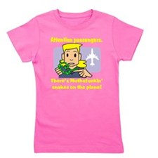 attention passengers.png Girl's Tee