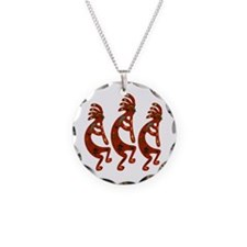 Lizard Kokopelli Necklace