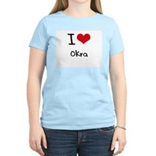 I Love Okra T-Shirt