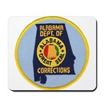 Alabama Corrections Mousepad