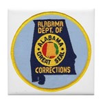 Alabama Corrections Tile Coaster