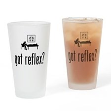 Reflexology Drinking Glass