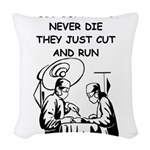 DOCTOR gifts t-shirts Woven Throw Pillow