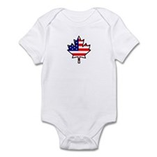 American-Canadian Half-Breed Infant Bodysuit