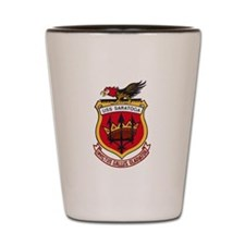 USS Saratoga CV-60 Shot Glass