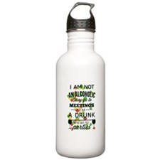 Drunks Go To Parties Water Bottle