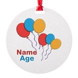CUSTOMIZE Happy Birthday Any Age Ornament