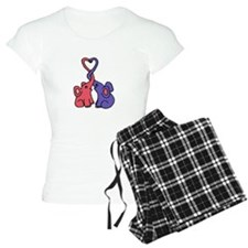 Elephant Love Cartoon Pajamas
