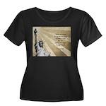 Thomas Paine Quote Plus Size T-Shirt