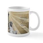 Thomas Paine Quote Mug