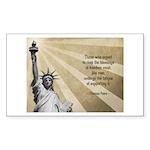 Thomas Paine Quote Sticker