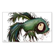"""""""ds"""" the zombie betta fish Decal"""