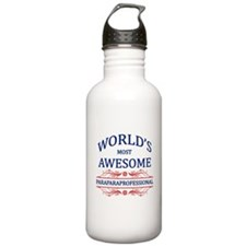 World's Most Awesome Paraprofessional Water Bottle