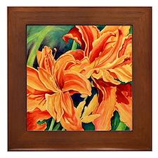 Flowers #5 Framed Tile