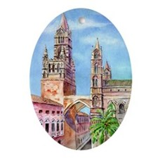 Palermo Cathedral Oval Ornament