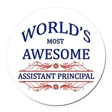 World's Most Awesome Assistant Principal Round Car