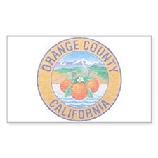 Vintage Orange County Decal