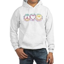 Peace Love Laugh Hoodie