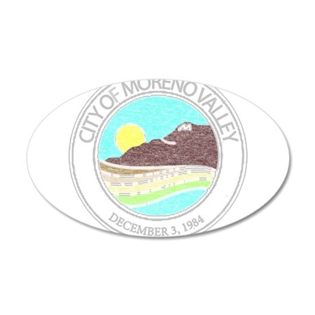 Vintage Moreno Valley Wall Decal