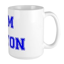 Team Aniston Blue Mug
