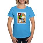 Five Pigeons Women's Dark T-Shirt