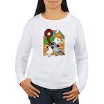 Five Pigeons Women's Long Sleeve T-Shirt