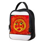 Sun Face Neoprene Lunch Bag