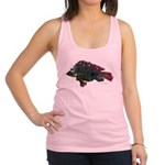 Bright Fish Print Racerback Tank Top