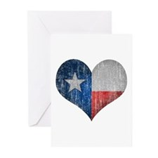 Faded Texas Love Greeting Cards (Pk of 10)