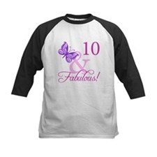 Fabulous 10th Birthday Tee