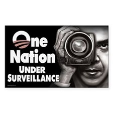 One Nation Under Surveillance Decal