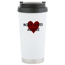MOST LOVED AUNTIE Travel Mug