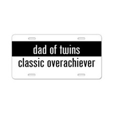 Cute Twins Aluminum License Plate