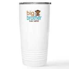 Personalized Monkey Big Brother Travel Mug