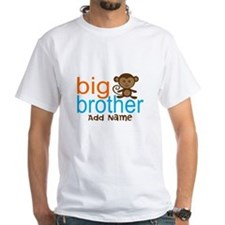 Personalized Monkey Big Brother Shirt