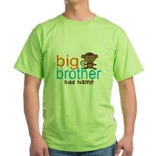 Personalized Monkey Big Brother T-Shirt