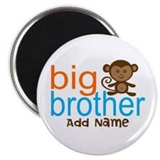 Personalized Monkey Big Brother Magnet