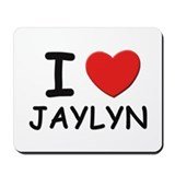 I love Jaylyn Mousepad