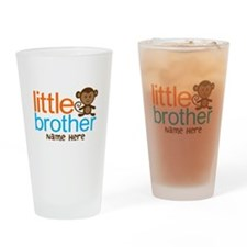Personalized Monkey Little Brother Drinking Glass