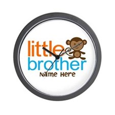 Personalized Monkey Little Brother Wall Clock