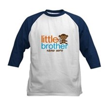 Personalized Monkey Little Brother Tee