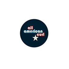 All American Curl Mini Button (10 pack)