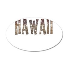 Hawaii Coffee and Stars Wall Decal
