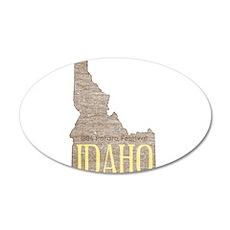 Vintage Idaho Potato Wall Decal