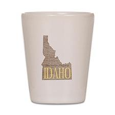 Vintage Idaho Potato Shot Glass