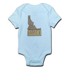 Vintage Idaho Potato Body Suit