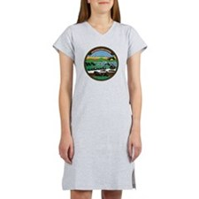 Kansas Vintage State Flag Women's Nightshirt
