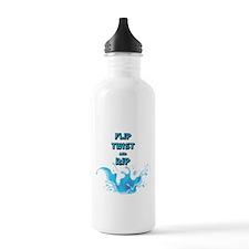 Flip, Twist and Rip Water Bottle