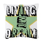 OYOOS Living My Dream design Woven Throw Pillow